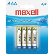 Maxell Alkaline AAA Battery, 48/Pack (723865D)