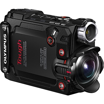 """""Olympus Tough Digital Camcorder, 1.5"""""""" LCD, BSI CMOS, 4K, Black"""""" IM11Y8869"