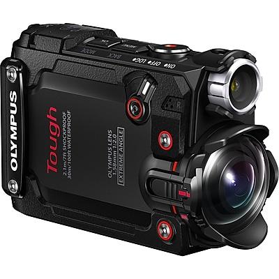 "Olympus Tough Digital Camcorder, 1.5"" LCD, BSI CMOS, 4K, Black"