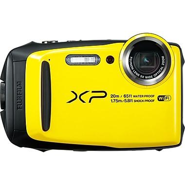 Fujifilm – Appareil photo numérique FinePix XP120 16,4 MP, jaune