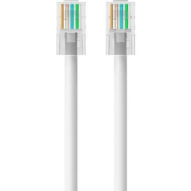 Belkin 10' Cat5e RJ45/RJ45 Crossover Snagless Duplex Patch Cable, White