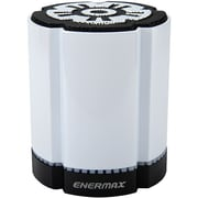 Enermax STEREOTWIN EAS02S-DW Speaker System, 4 W RMS, Battery Rechargeable, Wireless Speaker(s), White