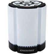 Enermax STEREOTWIN EAS02S-DW Speaker System, 4 W RMS, Battery Rechargeable, Wireless Speaker(s), White