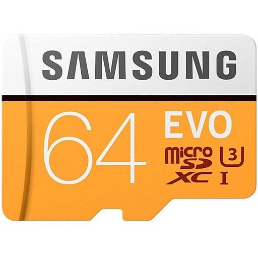 Samsung EVO 64 GB MicroSDXC MB MP64GA AM