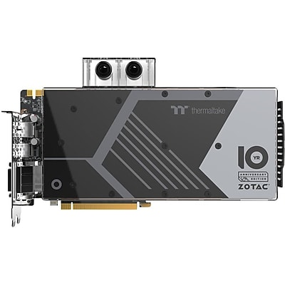 Zotac GeForce GTX 1080 Graphic Card, 1.66 GHz Core, 1.80 GHz Boost Clock, 8 GB GDDR5X, Dual Slot Space Required IM18W4355