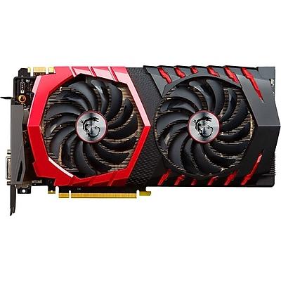 MSI GTX 1080 GAMING 8G GeForce GTX 1080 Graphic Card, 1.63 GHz Core, 1.77 GHz Boost Clock, 8 GB GDDR5X, PCI Express 3.0 x16 IM18R4402