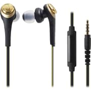 Audio-Technica Solid Bass In-Ear Headphones with In-line Mic & Control