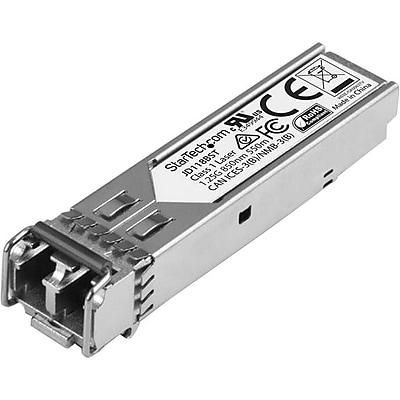 StarTech.com HP JD118B Compatible SFP, Gigabit Fiber 1000Base-SX SFP Transceiver Module, MM LC, 550m (1804 ft), 850nm