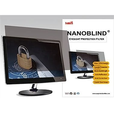 NanoBlind Privacy Screen Filter Crystal Clear, Matte (NB23W-C)