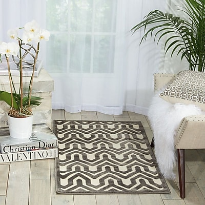 Mercer41 Beaconsfield Charcoal/Ivory Area Rug; 2'2'' x 3'9''