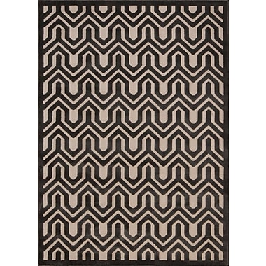 Mercer41 Beaconsfield Charcoal/Ivory Area Rug; 5'3'' x 7'3''