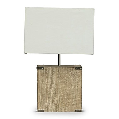 Wholesale Interiors Kostka 17.8'' H Table Lamp w/ Rectangular Shade