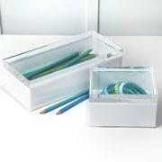 Brayden Studio Perspex 2 Piece Plastic Boxes Set