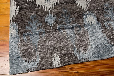 Bungalow Rose Bay Gray Area Rug; 3'9'' x 5'9''