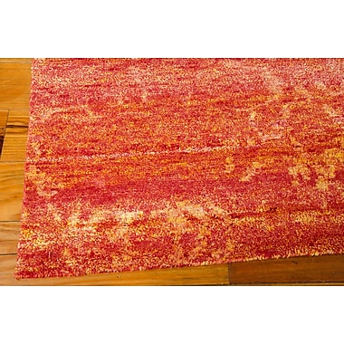 Mercer41 Preminger Hand-Knotted Flame Area Rug; 9'9'' x 13'9''