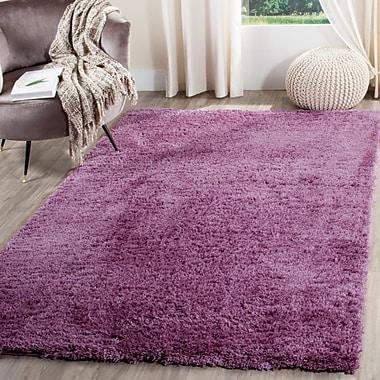 Mercer41 Zirconia Purple Area Rug; 4' x 6'