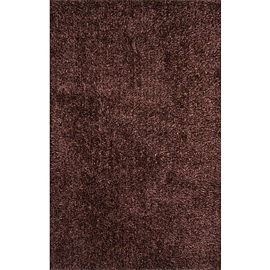 Mercer41 Woodside Taupe Solid Area Rug; 5' x 7'6''