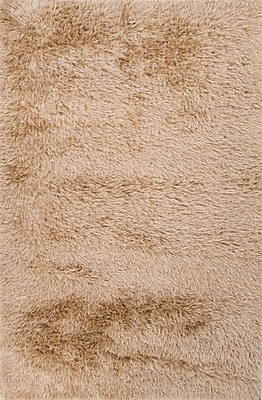 Mercer41 Chalfont Taupe/Tan Solid Area Rug; 4' x 6'
