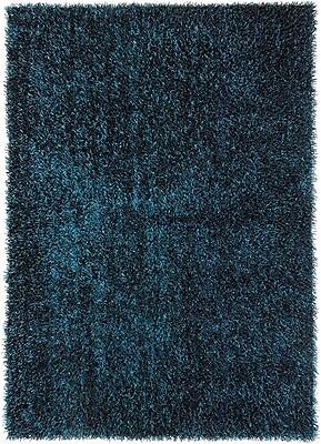 Mercer41 Woodside Teal Blue Shag Area Rug; 7'6'' x 9'6''