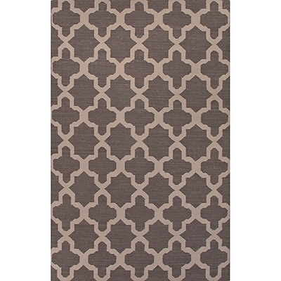 Willa Arlo Interiors Bowens Gray/Tan Geometric Area Rug; 5' x 8'
