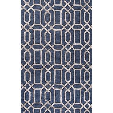 Willa Arlo Interiors Blondell Hand-Tufted Blue Area Rug; 5' x 8'