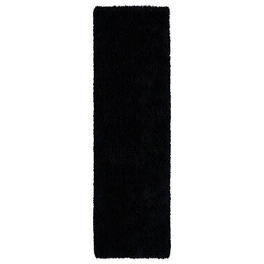 Willa Arlo Interiors Selman Black Area Rug; Runner 2'3'' x 8'