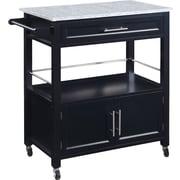 Red Barrel Studio Byard Kitchen Cart w/ Granite Top