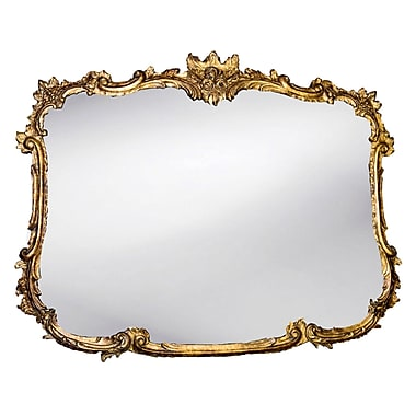 Astoria Grand Rogan Wall Mirror; Etineene Gold
