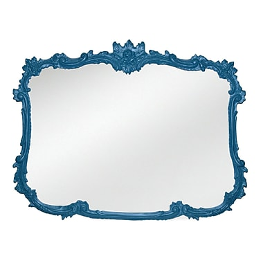 Astoria Grand Rogan Wall Mirror; Really Teal
