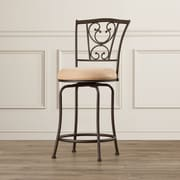 Fleur De Lis Living Kristine 24'' Swivel Bar Stool