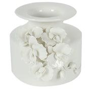 Rosalind Wheeler Ayer Vase; 6.2'' H x 7.6'' W x 7.6'' D