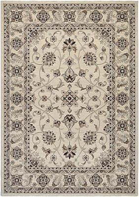Rosalind Wheeler Cavas Ivory Area Rug; 2' x 3'7''