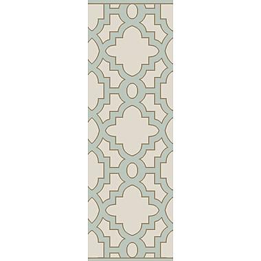 Alcott Hill Laurita Ivory/Gray Area Rug