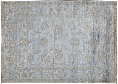 Darya Rugs Vibrance Hand-Knotted Gray Area Rug