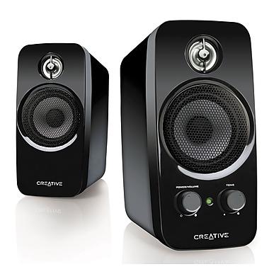 Creative Labs – Haut-parleurs de bureau Inspire T10, noir (51MF1601AA005 )