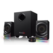 Creative Labs Sound BlasterX Kratos S5 2.1 Computer Speakers, Black (51MF0470AA000)