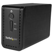 "StarTech.com USB 3.1 Dual 3.5"" SATA HDD Enclosure with RAID (S352BU313R)"