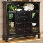 One Allium Way Halton Baker's Sideboard; Black