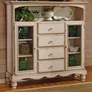 One Allium Way Halton Baker's Sideboard; White