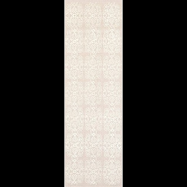One Allium Way Adeline Beige/Ivory Area Rug; Runner 2'6'' x 8'