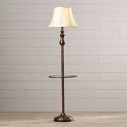 One Allium Way Donnie 60.5'' Floor Lamp; Palladian Bronze