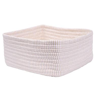 One Allium Way 3 Piece Nesting Basket Set; Canvas