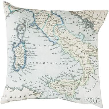 Alcott Hill Winstead Globe Outdoor Throw Pillow; 26'' H x 26'' W x 4'' D