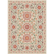 August Grove Kena Coral Indoor/Outdoor Stain Area Rug; 5' x 7'