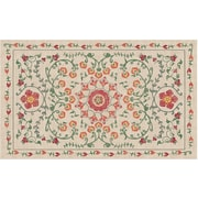 August Grove Kena Coral Indoor/Outdoor Stain Area Rug; 3' x 5'