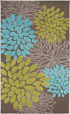 Ebern Designs Odele Chocolate Area Rug; 3'3'' x 5'3''