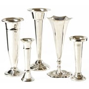 Darby Home Co 5 Piece Sliver Brass  Table Vase Set