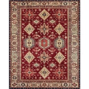 Charlton Home Richfield Ruby Indoor/Outdoor Area Rug; 8' x 10'