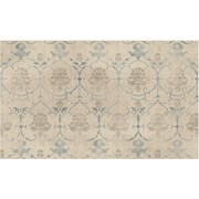 Ruggable Leyla Creme Indoor/Outdoor Area Rug; 3' x 5'