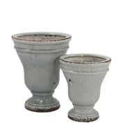 Selectives Dune 2-Piece Ceramic Pot Planter Set